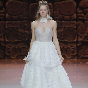 Inmaculada Garcia 2019. Credits: Barcelona Bridal Fashion Week