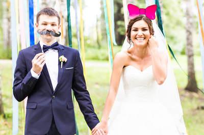 Najlepszy sposób na weselną zabawę - trend na fotobudki!
