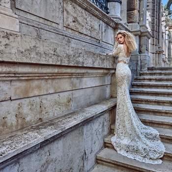 Foto: Modelo Morgan de Galia Lahav Haute Couture