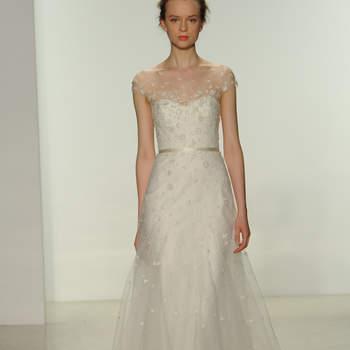 Свадебное платье с поясом Christos 2015