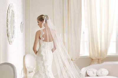 Los vestidos románticos y artesanales de La Sposa 2015