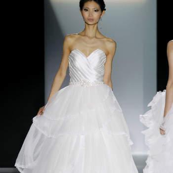 Vestido de noiva da colecção Cabotine By Gema Nicolás 2013.