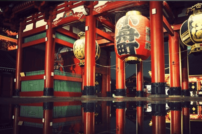 Lua de mel exótica: uma viagem ao Japão