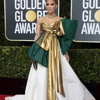 Jennifer Lopez veste Valentino. Crédits: Cordon Press