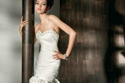 Demetrios 2012: Die Fotos der 12 schönsten Brautkleider mit Spitze und Organza