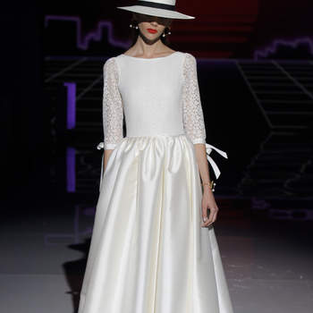 Rembo Styling by Marylise. Credits: Barcelona Bridal Fashion Week