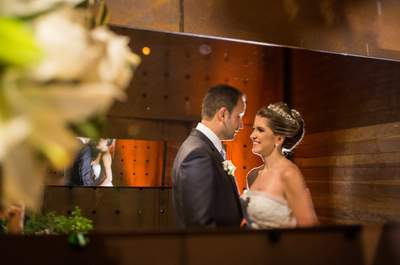 Aline & Vinicius: casamento clássico elegante em Curitiba