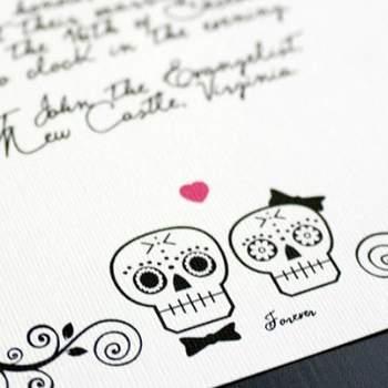 Faire-part de mariage imprimé Boutique sthblue sur Etsy.com