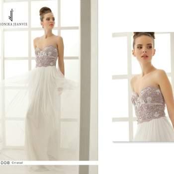 Robe de mariée Veronika Jeanvie - modèle Cristal