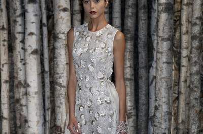 Naeem Khan Bridal Collection Spring/Summer 2015 at the New York Bridal Week