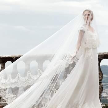 Photo : Maria Luisa Mariage - Alberta Ferreti, Lucina : 6 160€ / -50% : 3 080€