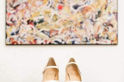 Cenerentola per un giorno: ecco le 4 scarpe da sposa più romantiche del 2017