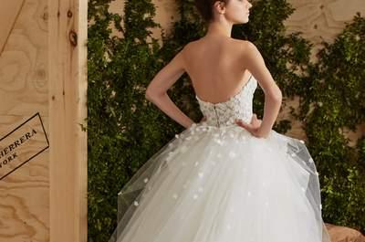Свадебные платья Carolina Herrera 2017: романтика и элегантность в изысканных дизайнах