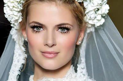 Tendências 2015: a sua maquiagem de noiva bela, natural e com o seu estilo!