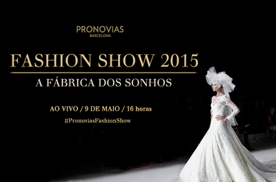 Pronovias 2015 exclusivo: 09 de maio, assista ao vivo no Zankyou todos os detalhes do desfile