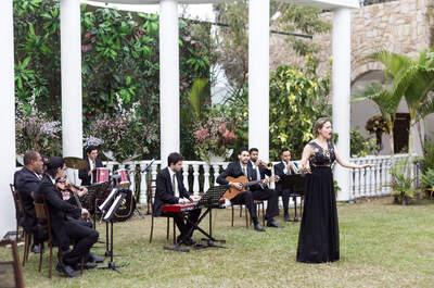Coral e instrumentos: aposte em uma orquestra para uma cerimônia inesquecível e única
