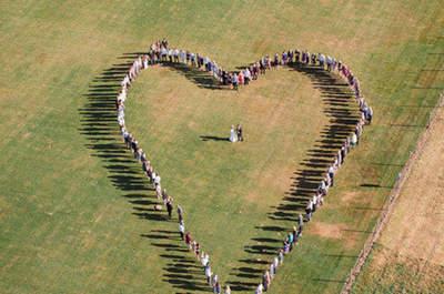 Imagens incríveis de casamento feitas com drones: impressionantes!