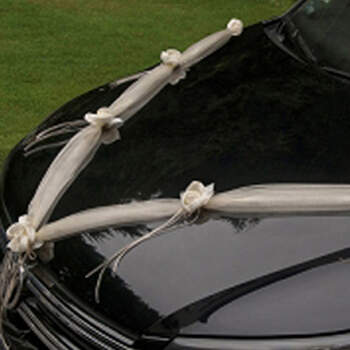 Guirlanda coche beige - Compra en The Wedding Shop