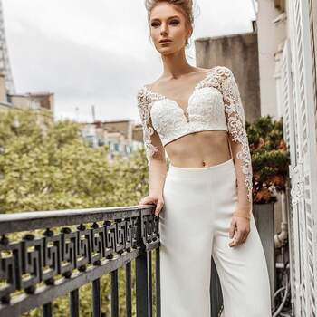 """Photo :  Victoria Soprano Wedding Dresses Will Make You Swoon! — 2019 """"Love in Paris"""" Bridal Collection 