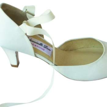 Chaussures Mademoiselle Rose - modèle Bourgh