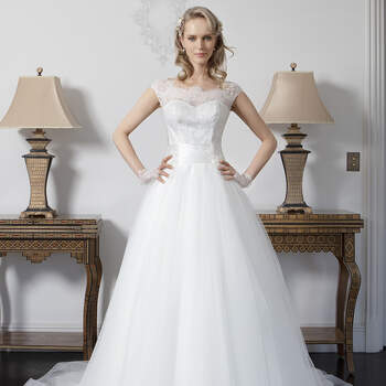 Photo : Robe de mariée Ryslene Bella Créations 2020 - Les Mariées de Talia