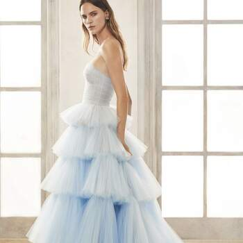Oscar de la Renta Bridal Fall 2020. Créditos: Divulgação.