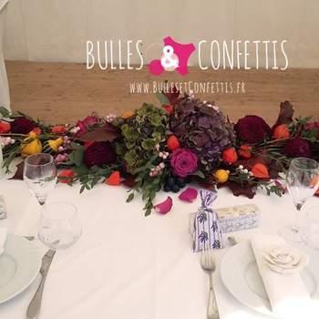 Photo : Bulles et Confettis