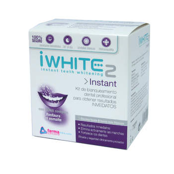Kit de branqueamento dental para resultados imediatos<p> IWHITE