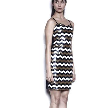 Vestido disponible en Chile. 791110: Color lentejuelas $ 29.990