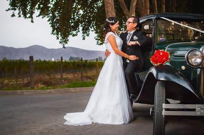 Paula y Jorge: un bello matrimonio inspirado en hermosos detalles