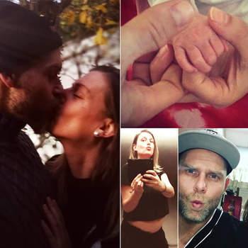Romana e Santiago Gomes foram pais de um menino em julho. É o segundo filho da cantora e o primeiro de Santiago. Fotos Instagram Romana