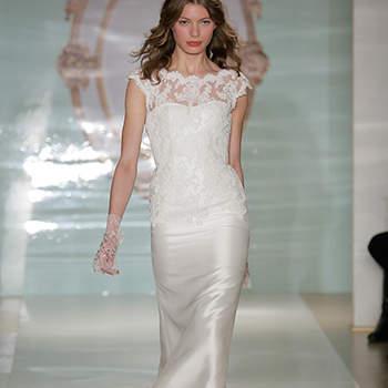 Reem Acra Spring 2015 Bridal Collection / New York Bridal Week. Photo: Getty.