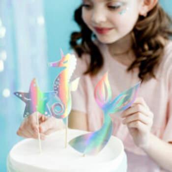 Cake Topper Petite Sirène 3 Pièces - The Wedding Shop !