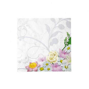 Servilletas bouquet 20 unidades- Compra en The Wedding Shop