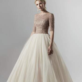 Créditos: Sottero & Midgley   Modelo do vestido: Allen Lynette