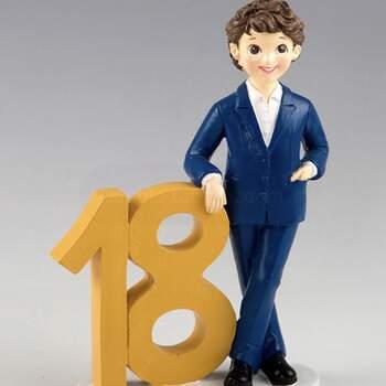 Cake Topper 18 Ans Garçon - The Wedding Shop !