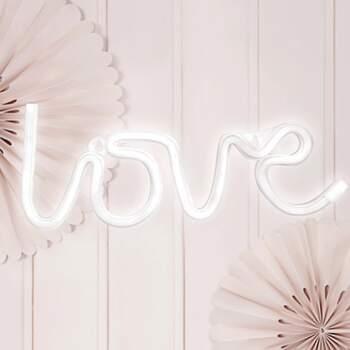 Néon Led Love - The Wedding Shop