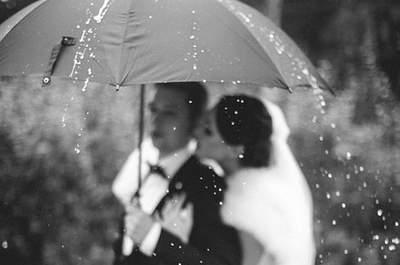 6 подсказок, чтобы дождь не помешал вашей сваьбе!