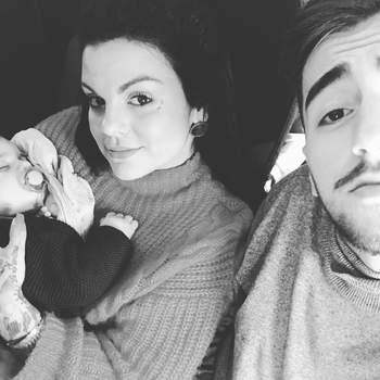 Fanny e o namorado João Almeida foram pais pela primeira vez em 2017. Diego nasceu a 10 de maio. Foto: Instagram Fanny