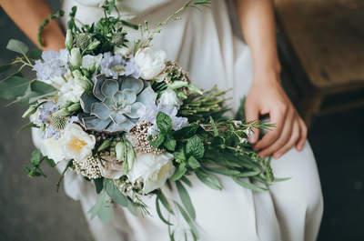 ¡Atención novias! Elige el ramo en función de la estación del año. ¡Apuesta por las flores de temporada!