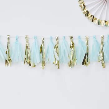 Borlas Decorativas Azul Claro- Compra en The Wedding Shop