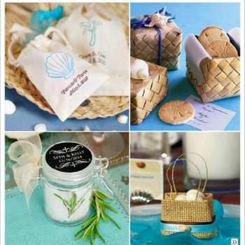 Cadeaux pour les invités du mariage - Crédit photo: Décorations de Mariage