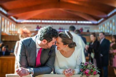 Solo tengo ojos para ti: la boda de Elena y Rafa