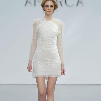 Vestidos de novia cortos: Los aliados perfectos para tu boda