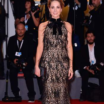 Joanne Froggatt attending the The Sisters Brothers Premiere as part of the 75th Venice International Film Festival (Mostra) in Venice, Italy on September 02, 2018. Photo by Aurore Marechal/ABACAPRESS.COM Alfombra roja The Sisters Brothers /cordon press