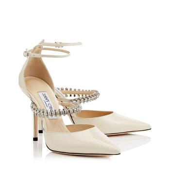 e73536ad0ff Chaussures de mariée Jimmy Choo 2019   le luxe à vos pieds ! Voir 15 photos