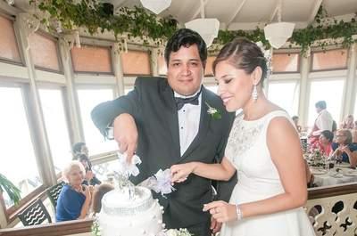 Claudia y Rafael, un amor que nació en las alturas