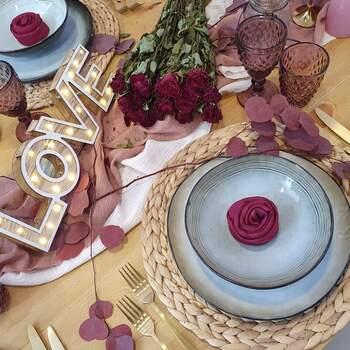 Photo : Clauday Evénements - Table amor-amor