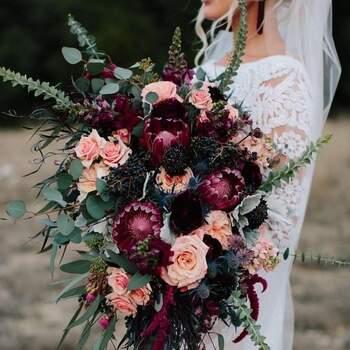 Há vários tons de rosas que, combinados, criam ramos fabulosos | Créditos: Lilian Ruth Bride