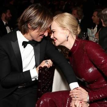 Nicole Kidman e Keith Urban via Instagram @gettyentertainment